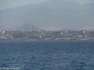 Her passerer vi Sharm El Sheik